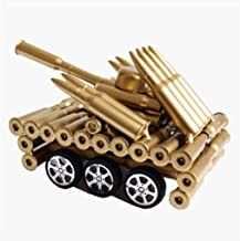XIAO Creative Ornaments Bullet Shell, Tank Cannon Model, Study / Office / Creative Home / Living Room / TV Cabinet / Desk / Children's Room Decorations (Various Happy Day