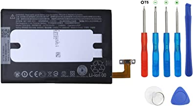 Swark Battery BOP6B100 for HTC One E8, M8, M8d, M8E, M8E Eye Like B0P6B100, 35H00214-00M, 35H00214-01M with Tools