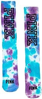 PINK Knee-High Socks, Tie Dye
