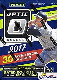 2017 Donruss Optic Baseball Factory Sealed Retail Box!  Look for Cards, Inserts, Parallels & Autographs of AARON JUDGE,CODY BELLINGER,Andrew Benintendi, Yoan Moncada & Many More! WOWZZER!