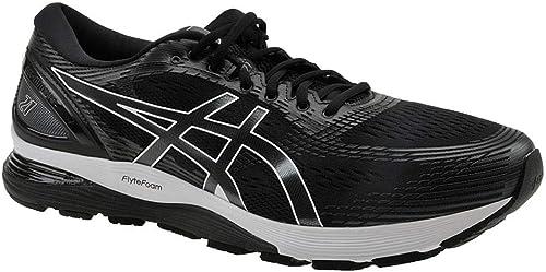 ASICS - Chaussures Gel-Nimbus 21 pour Hommes, 42.5 EU, noir Dark gris
