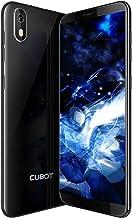 J5 Smartphone Libre 2019 Android 9.0 Teléfono móvil 3G sin contactos Dual Sim + Ranura TF Card 5,5 Pulgadas 16GB ROM 2GB RAM Quad-Core Procesador WiFi GPS 2800mAh CUBOT Oficial Color Negro