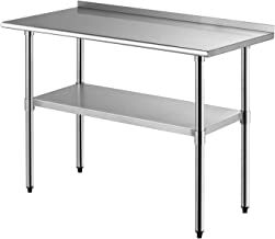 Best used stainless steel restaurant work tables Reviews