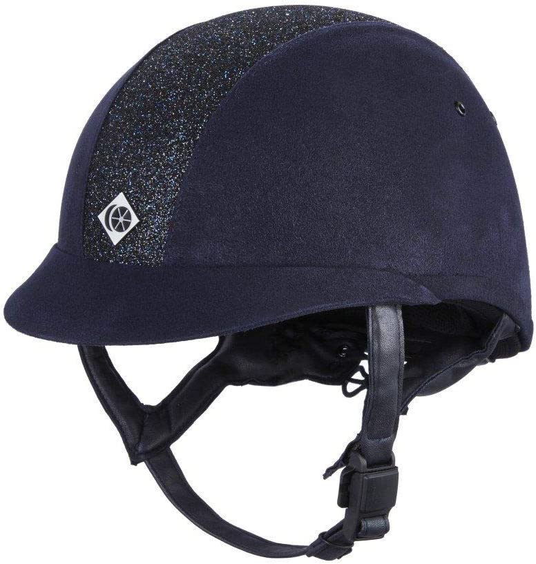 Charles Owen eLumen8 Black or Centre with Las Vegas Mall Navy Max 71% OFF Sparkly