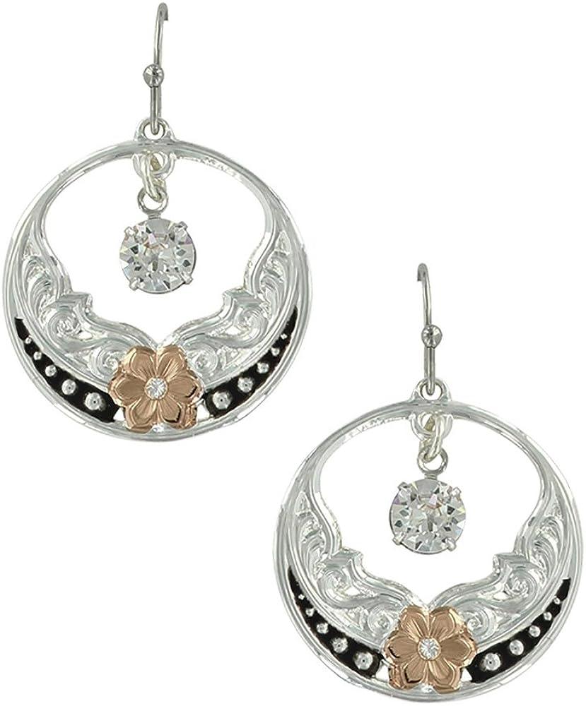 Montana Silversmiths Deluxe Evening Star's Earrings ER3491RG Rose Wild Nashville-Davidson Mall