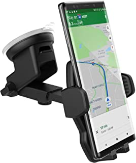 Encased Galaxy S10 Car Phone Holder (fits Samsung Models S10 S10+ S10e, Note 9, Note 10 Plus) - Dock Includes Dash & Window Mount (Case Friendly Design)