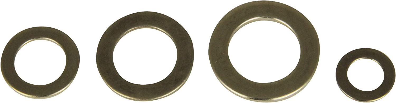 est/ándar M4 DIN 125 de acero inoxidable A2 Arandela 1 pieza Arandela de fijaci/ón V2A