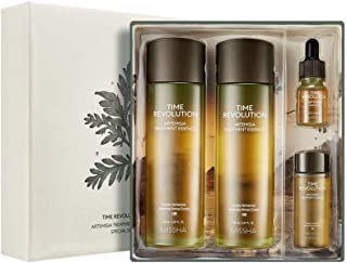 [MISSHA] Time Revolution Artemisia Treatment Essence Special Gift Set - Double Fermented Artemisia (Mugwort) Line to Hydrate and Sooth Sensitive Skin