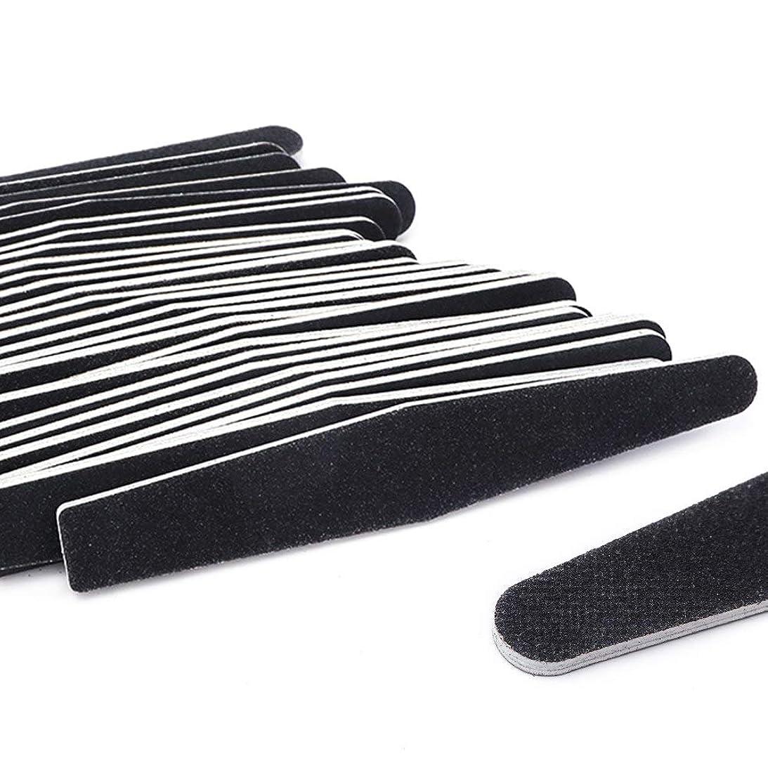 変な団結する微視的5ピース/ロット黒サンディングネイルアートファイルバッファグリットストレートエッジスティックdiy研磨ブロックネイルファイルセットマニキュアツールSA833