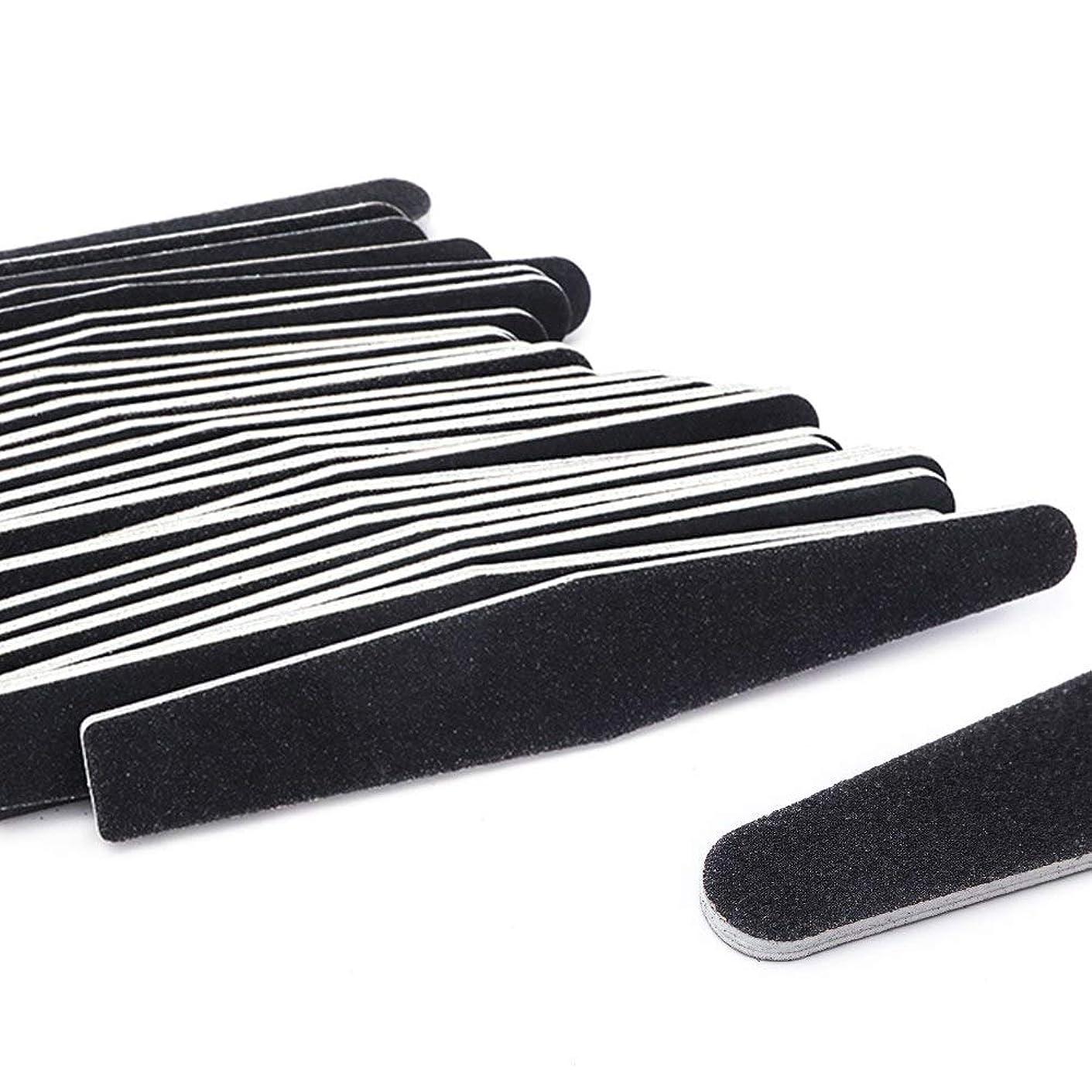 評価するかなりの再生5ピース/ロット黒サンディングネイルアートファイルバッファグリットストレートエッジスティックdiy研磨ブロックネイルファイルセットマニキュアツールSA833