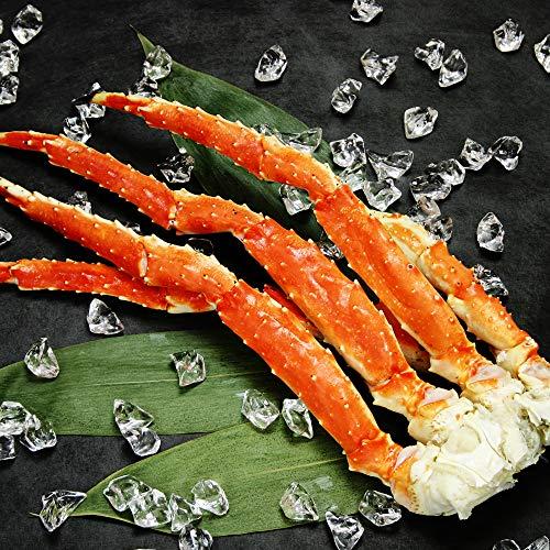蟹 ハサミ タラバガニ 足 特大 ボイル 800g 4L 1肩 カニ はさみ 北国からの贈り物