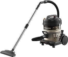 HITACHI Drum Vacuum Cleaner 2200 Watts, 18 Liters, Gold Black - CV-975FC SS220 GB