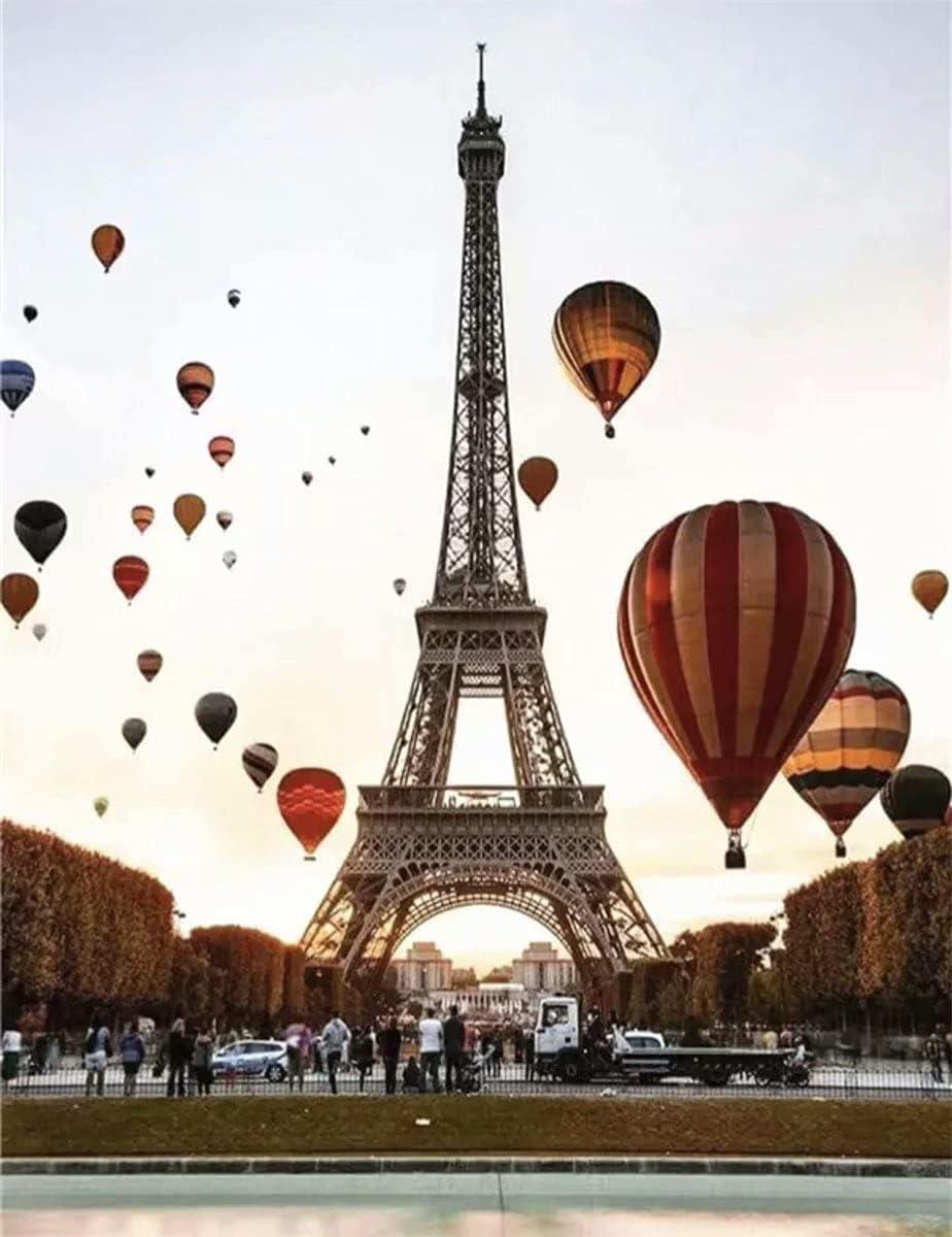 Ranking TOP4 5D DIY Diamond Painting Tools 5 ☆ popular Balloons Paris