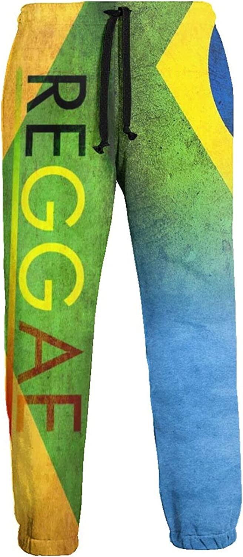 Men's Jogger Sweatpants Brasil and Argentina 3D Loose Joggers Pants with Drawstring Long Pants