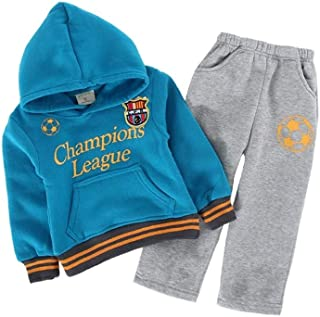 Baby Boys Winter Outfits Fleece Football Champion