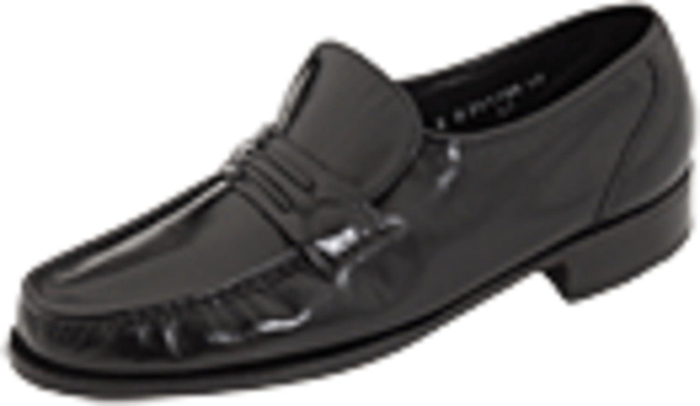 Florsheim Como Slip-On Loafer Max 71% OFF Black outlet 3E 8.5