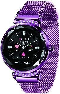 Pulsera Actividad Inteligente Monitor Ritmo CardíAco Y SueñO, Leer Mensajes, Reloj Inteligente para Mujer Hombre Compatible con iOS Y Android.