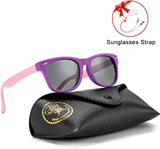 Flexible Kids Sunglasses Polarized Baby Boys and Girls UV...