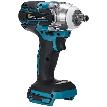 18v Electric Impact Wrench,1//2 Inch Brushless Cordless,Torque 520nm Wrench Power Tool Impact Frequency/ï/¼/š0-4000ipm