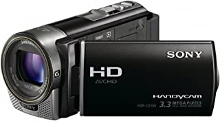 Sony HDR CX160EB Full HD Camcorder 16GB (3,3 Megapixel, 7,5 cm (3 Zoll) Touchscreen, 30 fach opt. Zoom) schwarz