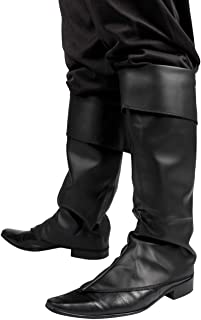 Boland 81996 Mosquetón pirata en cuero sintético negro