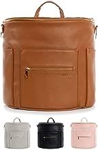 Fawn Design Premium Vegan Leather Diaper Bag and Backpack