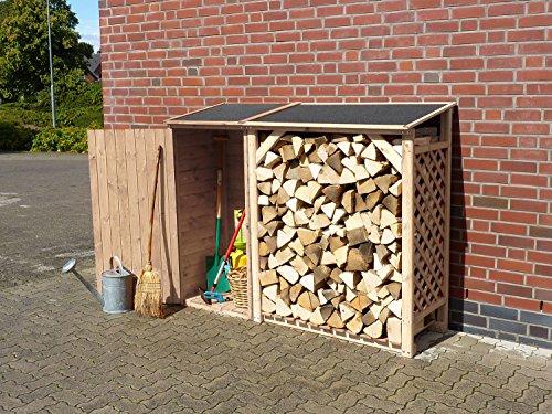 Promadino Kaminholzkombination Speyer Natur