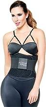Ann Michell 4025 Fitness Latex Belt Waist  Cincher  38-Large, Black