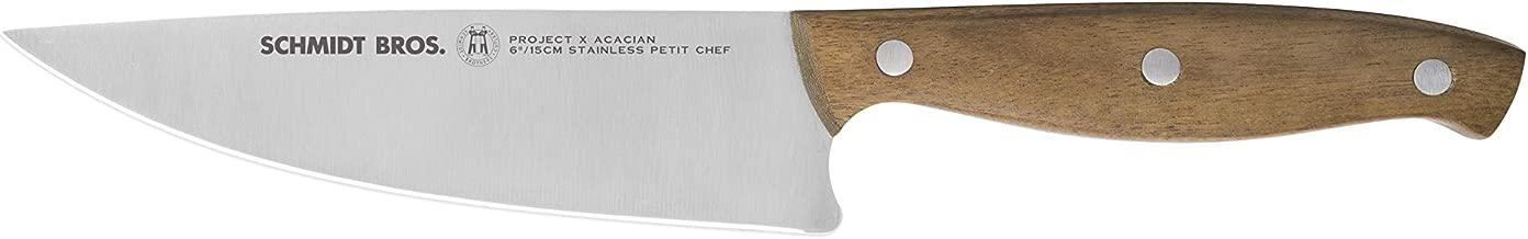 Schmidt Brothers Cutlery Project X / Acacian ペティシェフナイフ (刃渡り約15cm) <正規品>