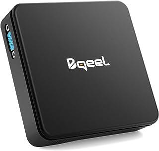 comprar comparacion Bqeel Mini PC 【4GB+64GB】 Procesador Intel® Cherry Trail Z8350 soporta Windows 10 Home Dual WiFi 5G/2.4G,Gráfico Intel HD 4...
