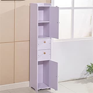 estantería Cqq baño Impermeable Caja de Almacenamiento de Inodoro Armario Lateral de almacenaje baño (Tamaño : 22 * 120cm)