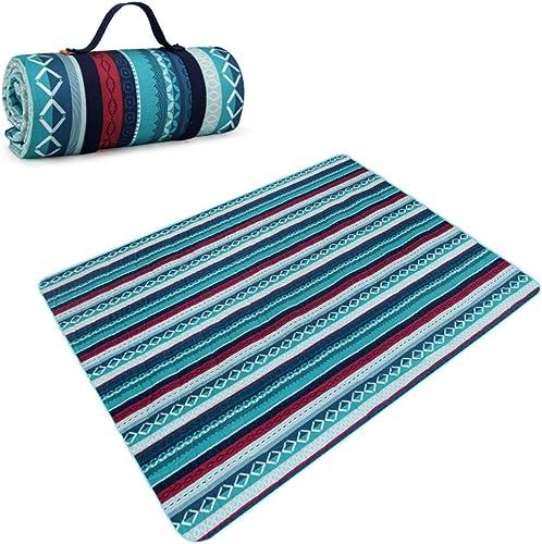 Couverture de pique-nique avec support imperméable - Tapis de prougeection XXL pour tapis de pique-nique portable, étanche à l'humidité. Tapis de pique-nique lavables pour tapis de pelouse pour camping