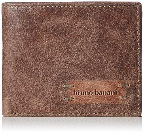 Bruno Banani Unisex-Erwachsene Vista_2_1 Geldbörsen, Braun (braun), 12x9x2 cm