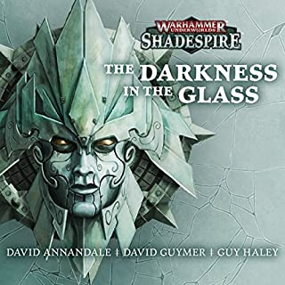 Couverture de The Darkness in the Glass