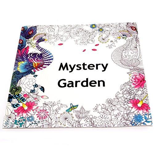 Analysisty Engels Volwassene Mysterie Tuin Treasure Hunt Kleurplaten Schilderij Boek