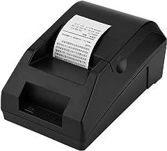 fosa Impresora Térmica de Tickets para Caja Registradora y ESC/POS, 58mm,Impresora USB de Recibos para Punto de Venta, Compatible con Android, iOS,Windows,Linux(Negro)