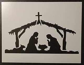 OutletBestSelling Reusable Sturdy Baby Jesus Bethlehem Manger Christmas 11