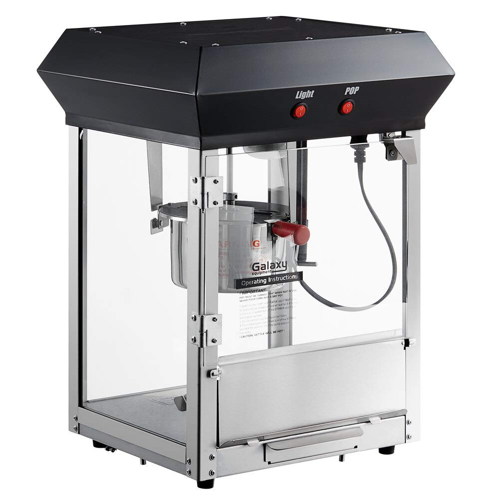 Popcorn Machine - Commercial Black Theater Ranking TOP20 Spring new work Style C Matinee Movie
