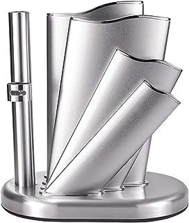JJWC Ménage Couteau de Stockage Rack Nouveau Porte- Couteau en Acier Inoxydable Porte- Couteau Multifonctionnel en métal O...