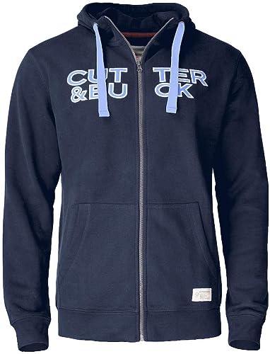 Cutter & Buck Twisp Hoody Full Zip, Taille 4XL, Couleur Dark Navy