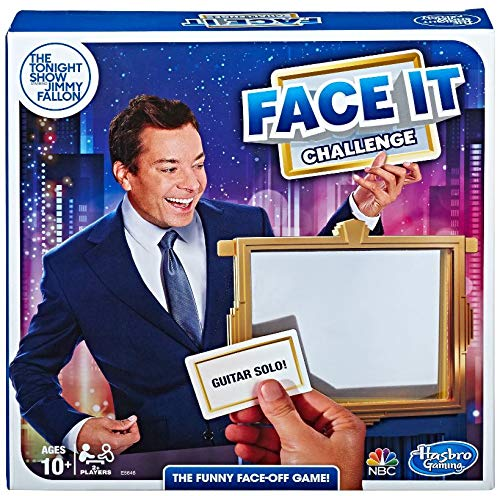 Hasbro Gaming The Tonight Show Starring Jimmy Fallon Face It Challenge Party Game for Teens and Adults JungleDealsBlog.com