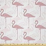 Lunarable Flamingo-Stoff von The Yard, stehendes