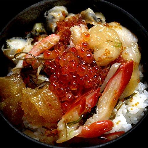 海夢 海鮮丼 北海道 厳選素材使用 豪華海鮮松前漬 「七夕野郎」 3個
