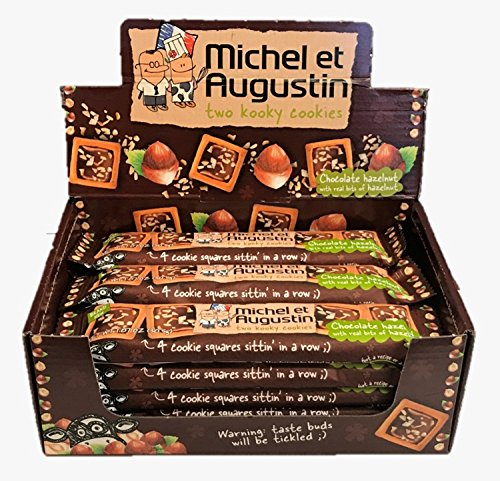 MICHEL ET AUGUSTIN Ckie Squares Mlk Chicago Mall Max 86% OFF Hzln Siz 18 Pack Cho of