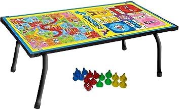 Varshine Tuk Tuk Toys Multipurpose Ludo Table Board, Bed Study Table & Laptop Support Table.