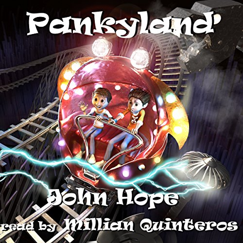 Pankyland audiobook cover art