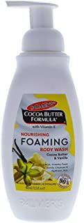 Palmer's Cocoa Butter Nourishing Foaming Body Wash for Unisex, 13.5 Ounce