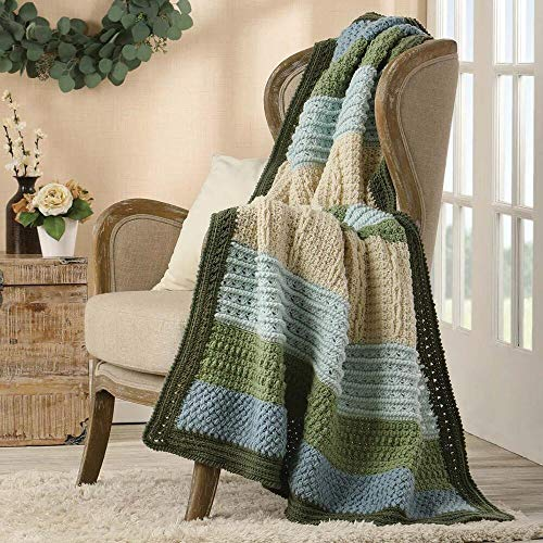 Herrschners Hydrangea Crochet Afghan Kit