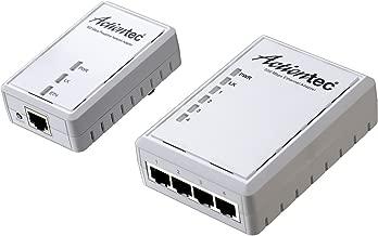 ACTIONTEC 500 Mbps Powerline Ethernet Adapter and 4-Port Hub Kit (PWR514K01)