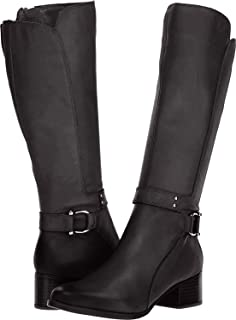 Womens Dane Leather Tall Riding Boots